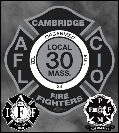 CAMBRIDGE FIREFIGHTERS LOCAL 30 IAFF